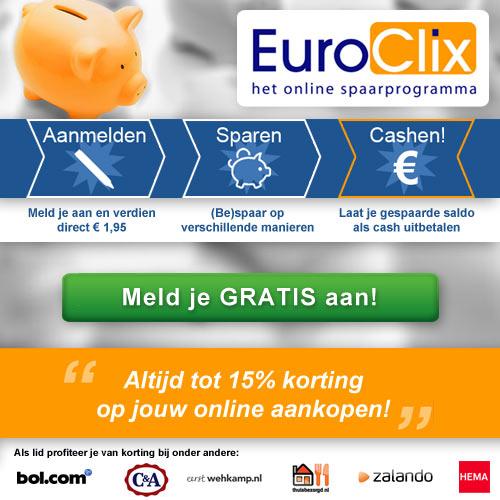 euroclix spaarprogramma