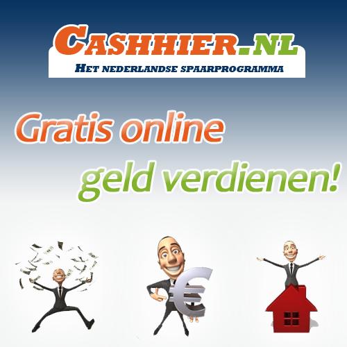 Spaarprogramma: CashHier